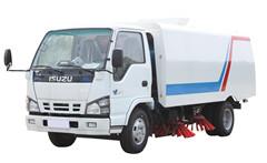 Street Sweeper Truck Isuzu details pictures