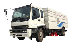 road sweeper cleaner truck ISuzu FTR FVR trucks