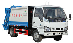 garbage compactor Isuzu