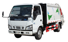 Refuse compactor trucks Isuzu rubbish compactor trucks