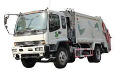 Compactor Garbage Truck Isuzu