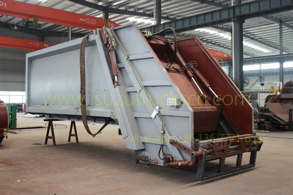 Garbage Compactor Truck Body kit
