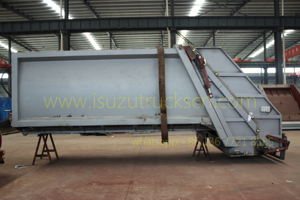 Garbage Compactor Truck Body kit specification details picture