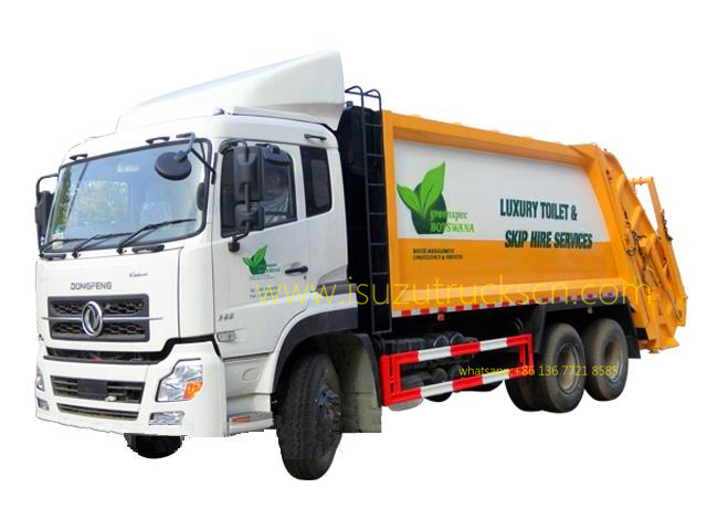 Urban Garbage Compactor Truck Dongfeng 20 CBM