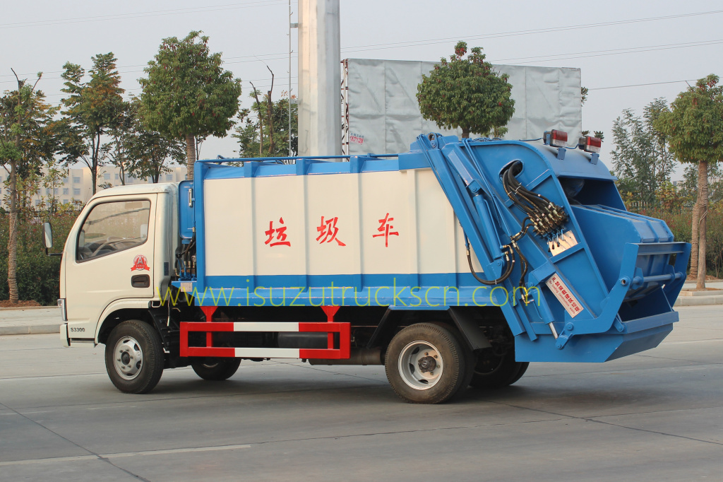 pictures for Rubbish Compacting Truck Dongfeng 5 CBM