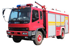 Armenia 4x2 5000L Single cabin Water Foam Fire Truck Isuzu
