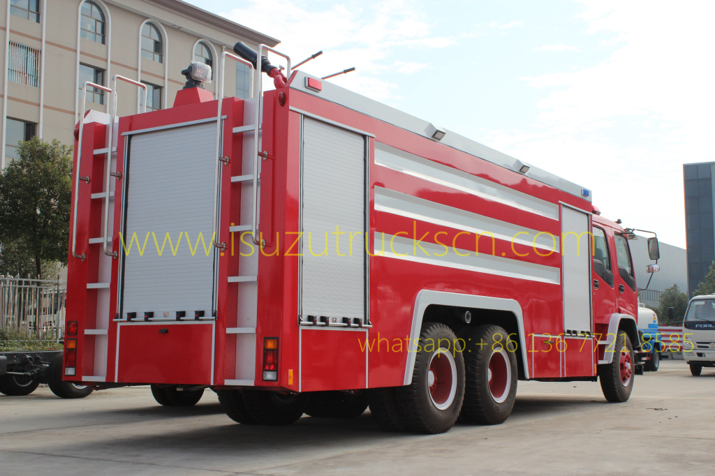 12,000L Foam Water Fire truck Isuzu
