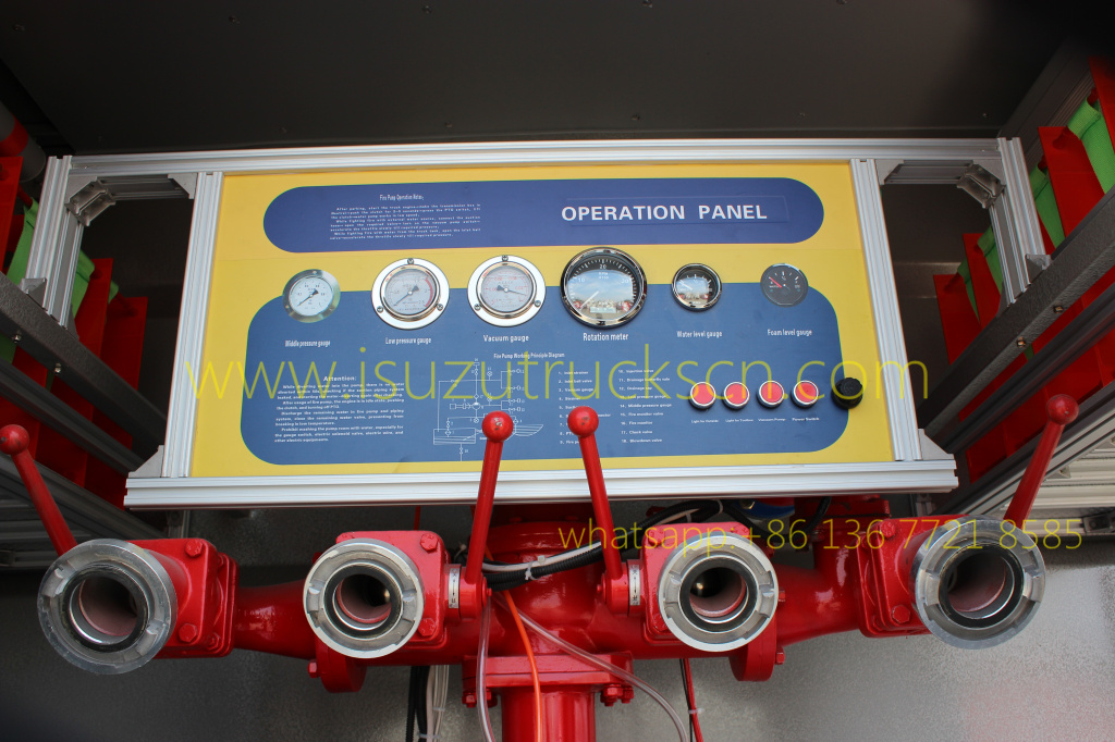 12,000L Foam Water Fire truck Isuzu FVZ trucks
