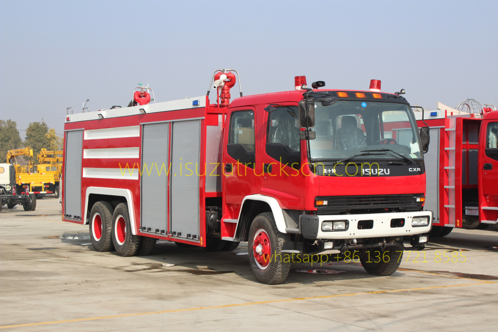 Foam Powder Fire Vehicle Isuzu