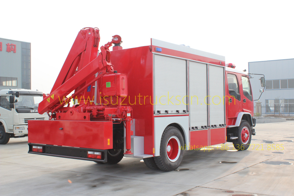 Emergency Rescue Fire Trucks Rescue Tender Truck ISUZU Specifications and pictures