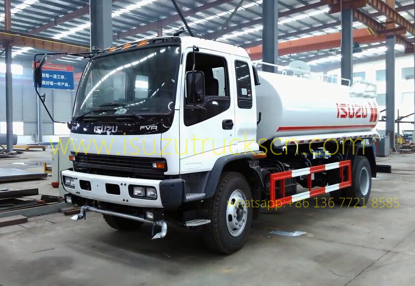 Water Cart ISUZU FTR Watering Trucks 14000L pictures and specifications