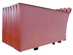 compactor garbage truck parts body side assembly