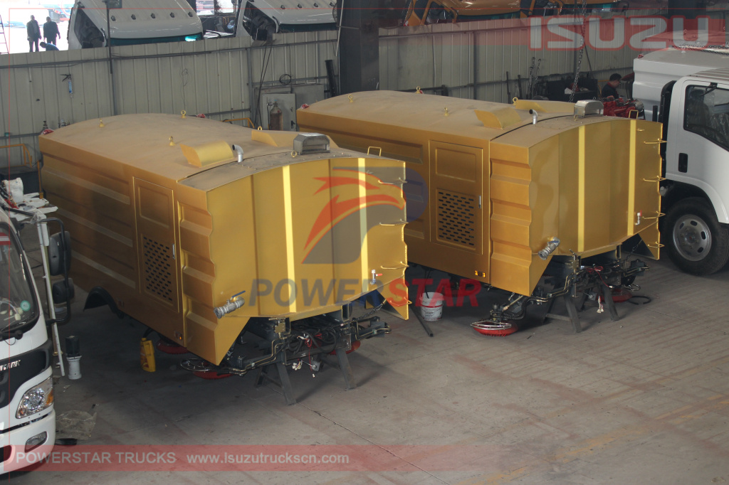 Cutomer made street sweeper super structure