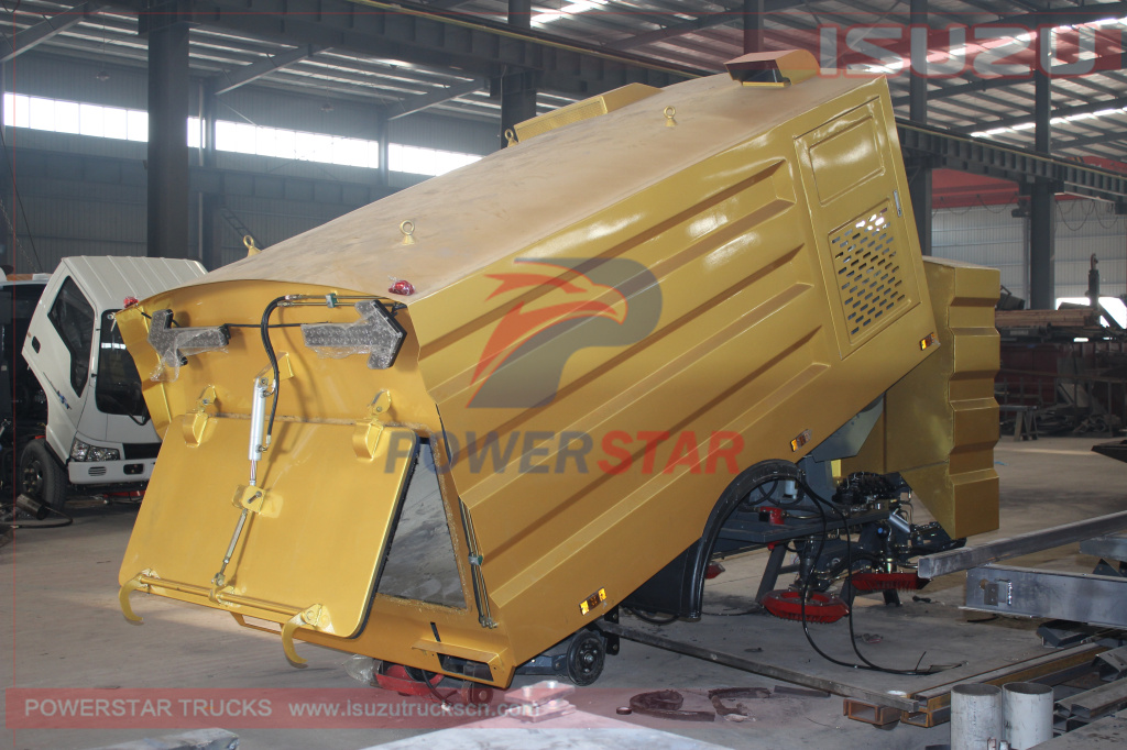 Road sweeper Truck Body kit specification details picture