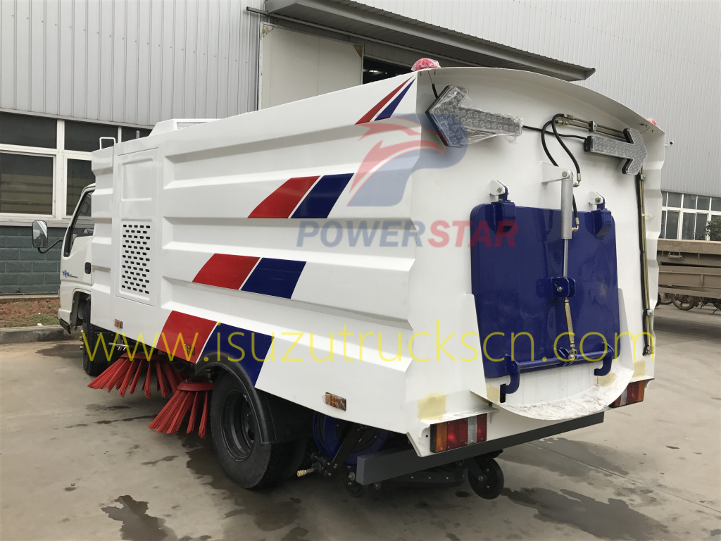 Specifications and pictures for Street Sweeper Trcuk JMC
