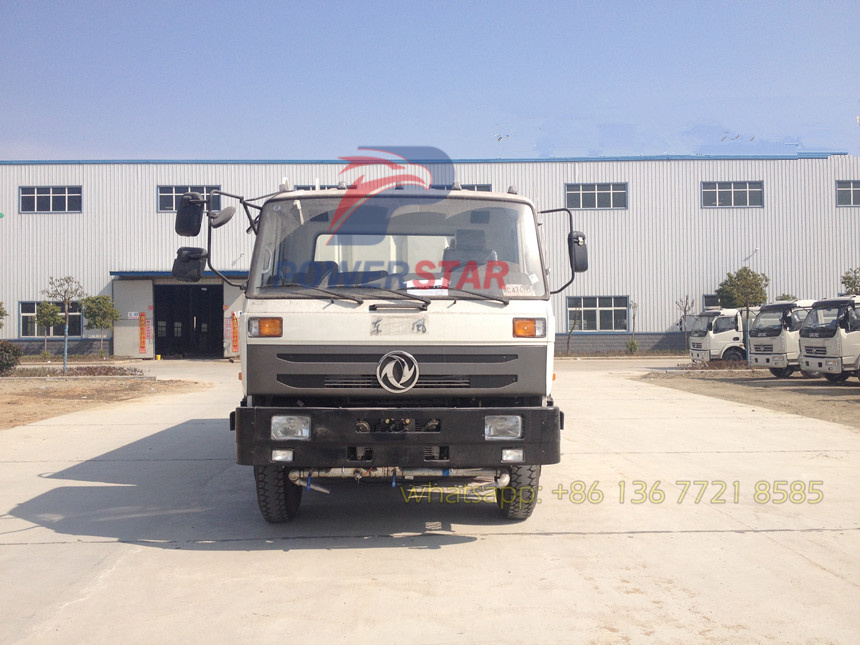 road sweeper washer truck Dongfeng