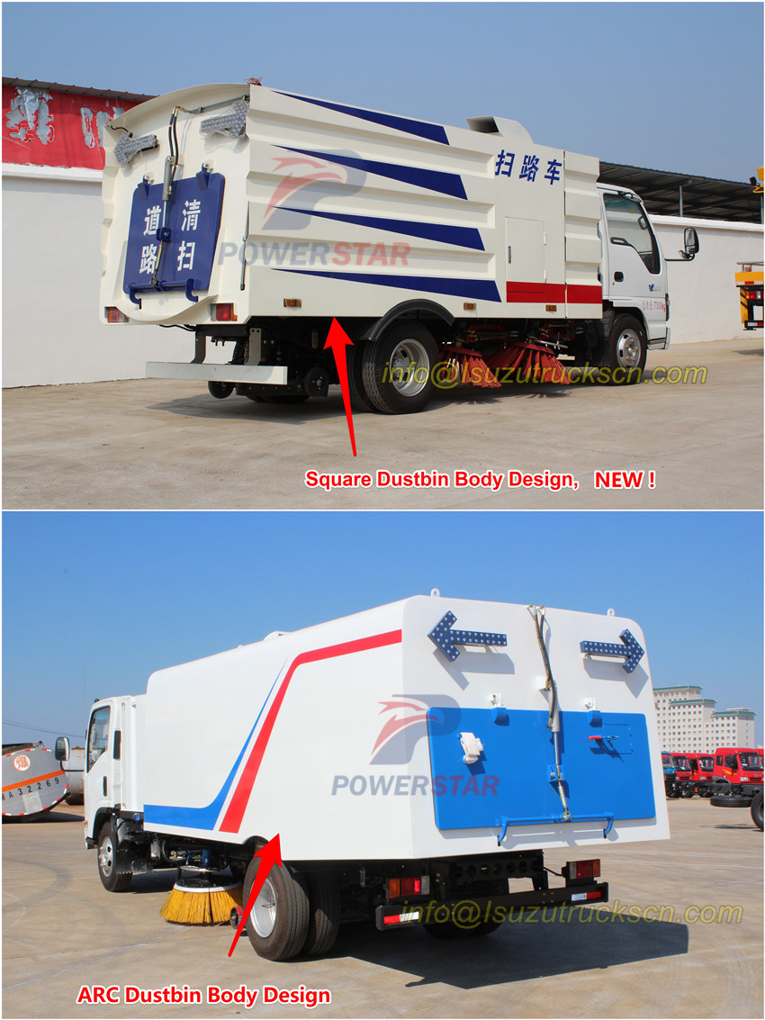 Dustbin Tankbody for Road Sweeper pictures