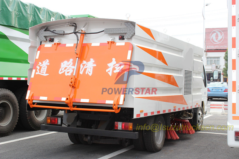 workshop of New square dustbin body for road sweeper truck pictures