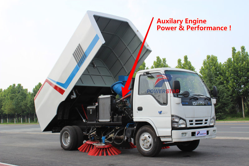 Road Sweeper kit Auxiliary Engine pictures