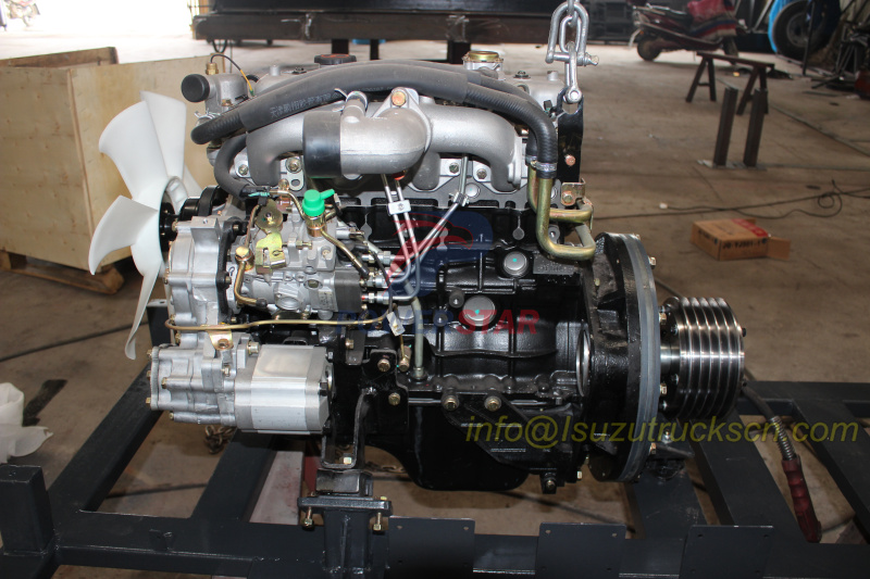 Auxiliary engine install at workshop detail pictures