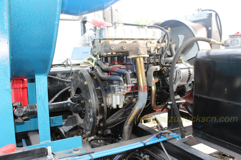 Isuzu tech Auxiliary engine JX493 for road sweeper trucks