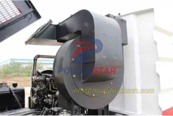 road sweeper truck parts van air blower detail pictures