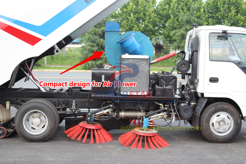 Air Blower Fan for Road sweeper kit
