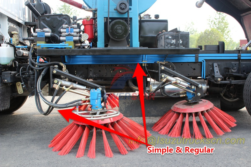 Hydraulic Pipe line of street sweeper truck