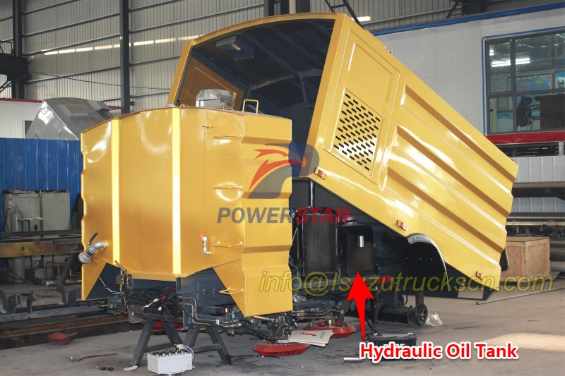Hydraulic oil tank for road sweeper kit super structure picture