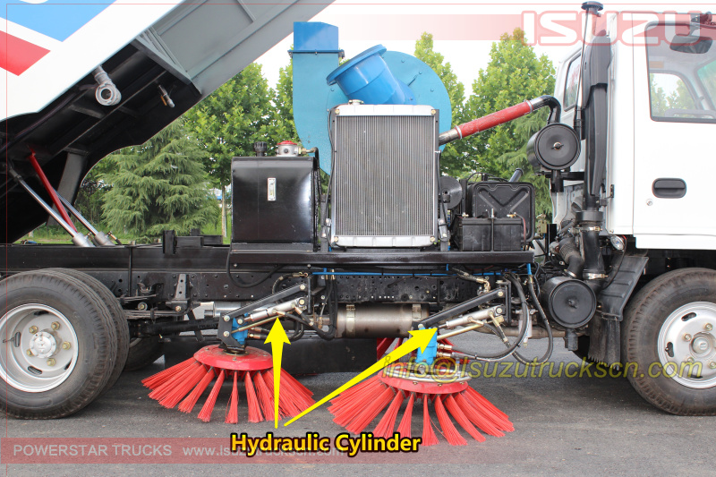 Sweeper parts Hydraculic Cylinder