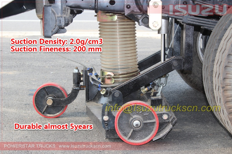 sweeper truck spare parts suction port