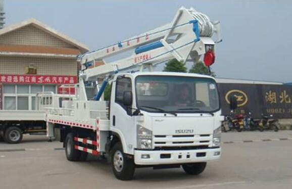 18m Man Lift Truck Isuzu