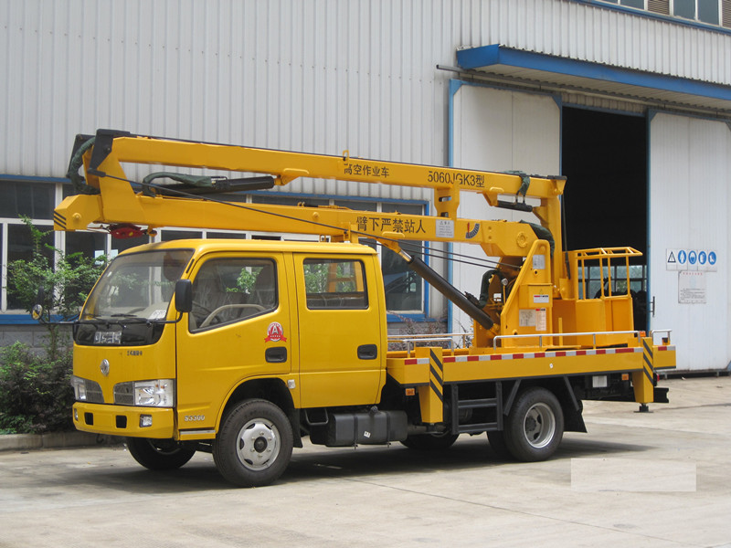 aerial platform truck dongfeng