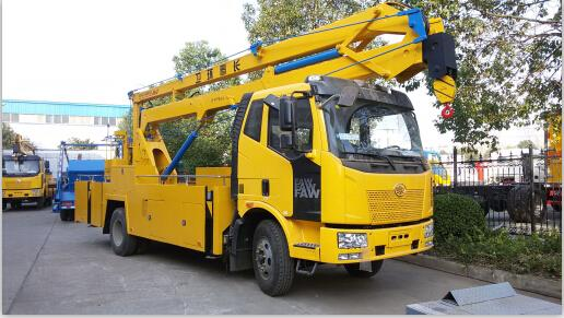 Mobile Man Lifter Truck FAW