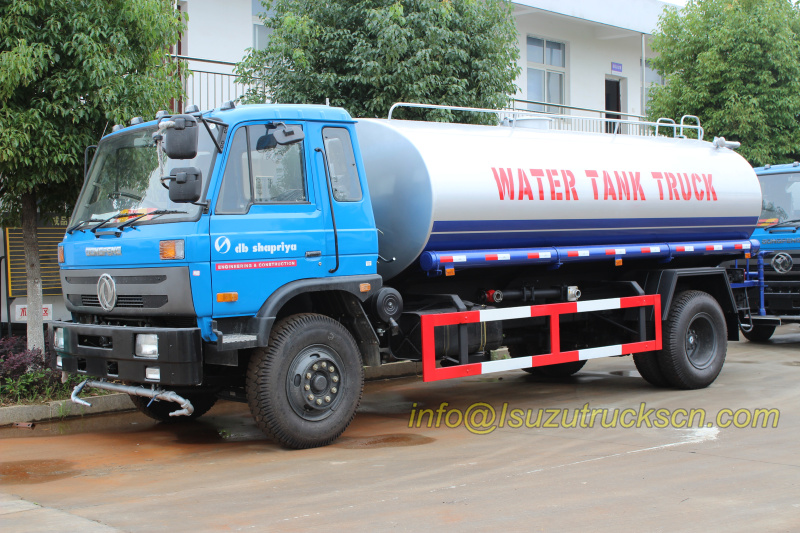Customer build right hand drive water tank truck 10,000L for db SHAPRIYA