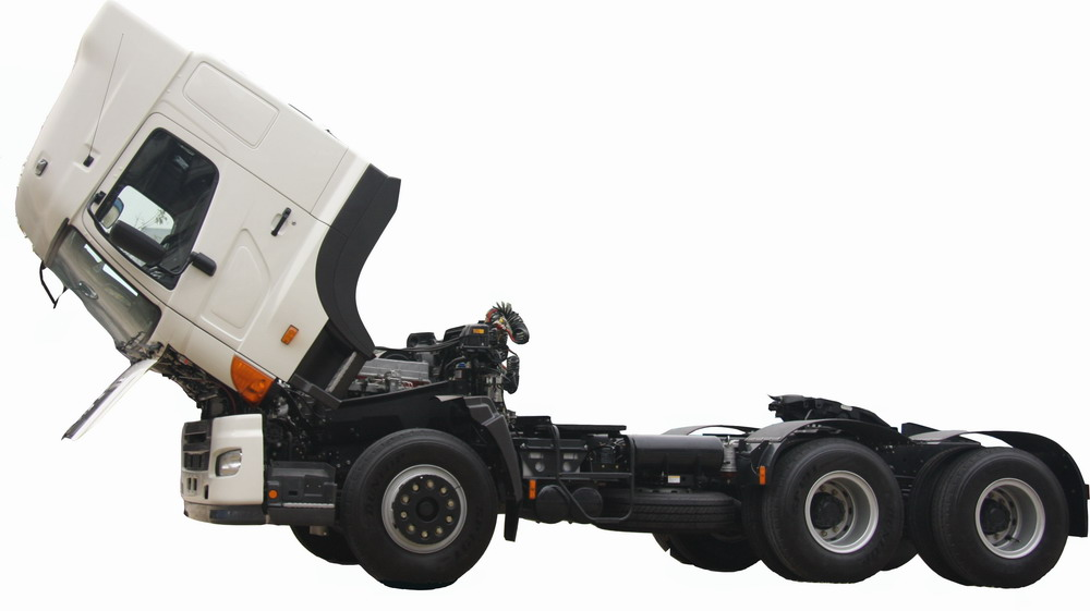 Trailer head trucks HINO700 prime mover vehicle
