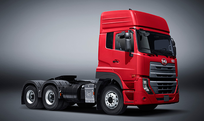 Prime Mover UD Quester Tractor trucks detail pictures