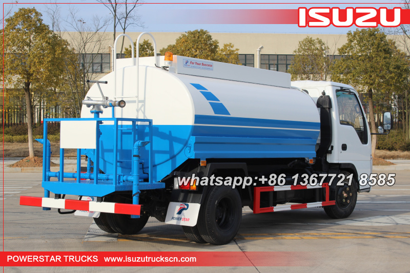 Portabel Water Trucks Isuzu for sale