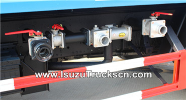 water pump for Isuzu water trucks tanker
