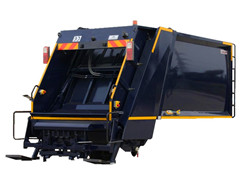 Waste compactor kit for refuse compactor structure