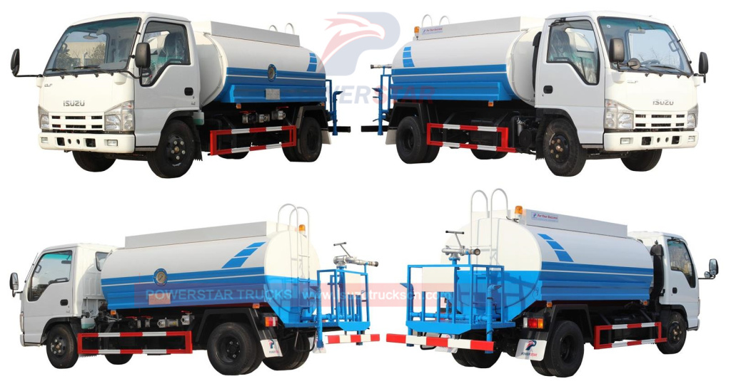 Isuzu Water Trucks 5,000L Water Spray Trucks