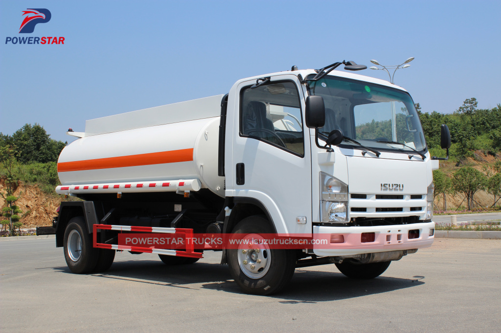 pictures for Oil Tank Truck ISUZU Fuel Bowser 5,000L