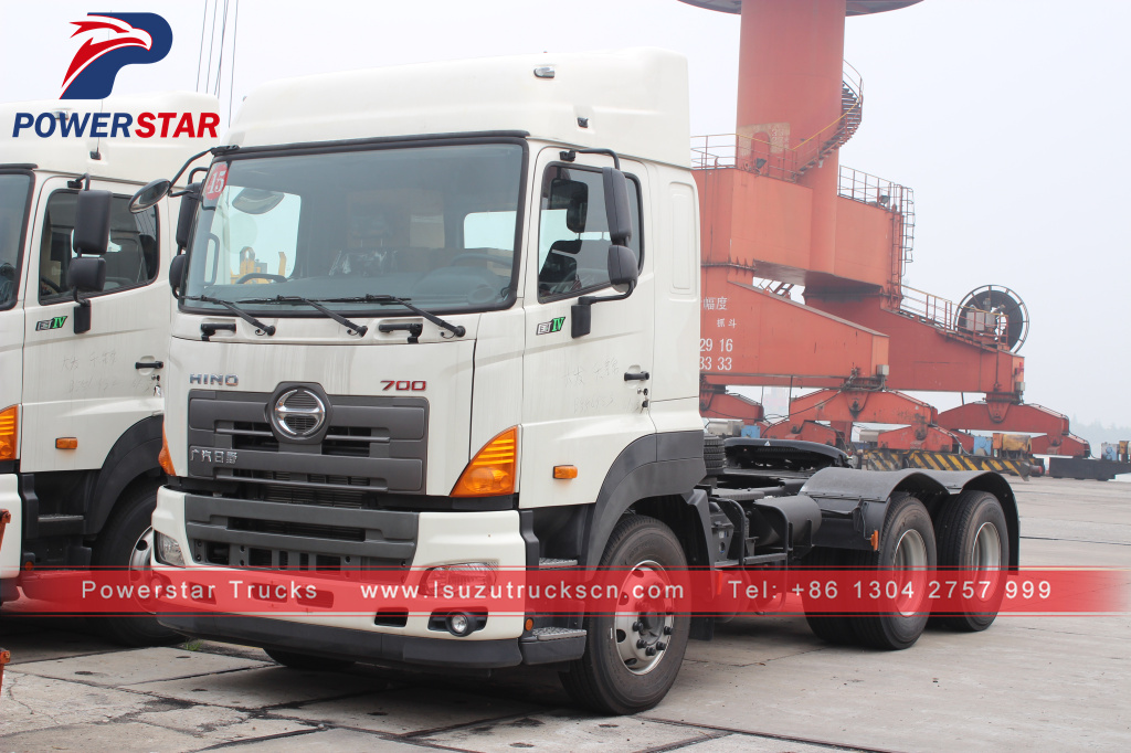 Gac Hino 420hp Hino 700 380Hp tractor truck and trailer for transportation
