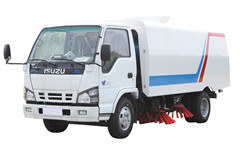 Industrial Road sweeper Isuzu Environment sweeper truck
