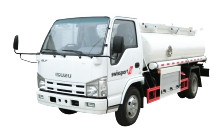 ISUZU Fuel Tank Truck ELF 5CBM Oil tanker Truck for sale