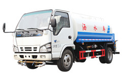 water transport truck Isuzu water hauling truck