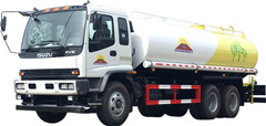 water tank lorry Isuzu mobile water truck for export