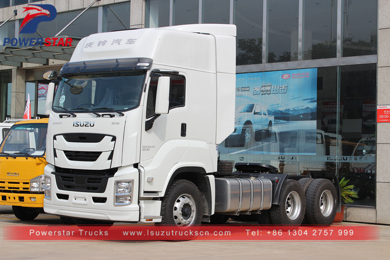 Isuzu Tractor Truck Giga Trailer Prime Mover with 6WG1-TCG51