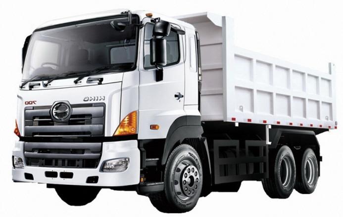 Heavy dump truck GAC Hino Tipper trucks 30Tons