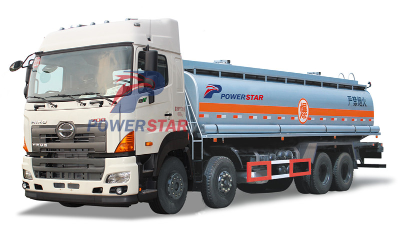Fuel bowser GAC Hino oil tanker trucks